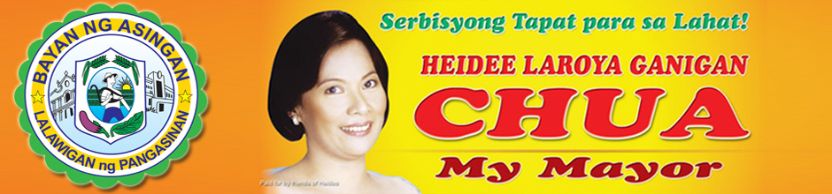 Official Website of Mayor Heidee Chua Logo