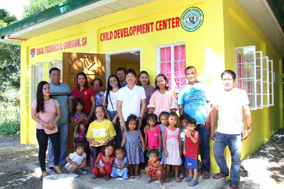 Blessing of Engr. Federico B. Ganigan Child Development Center