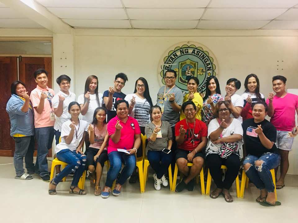 Congratulations to the New set of LGBTQI-Asingan Officers