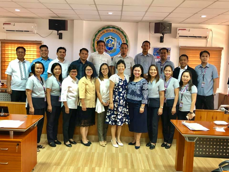 With Asingan MCTC personnel led by Judge Sarah Martin