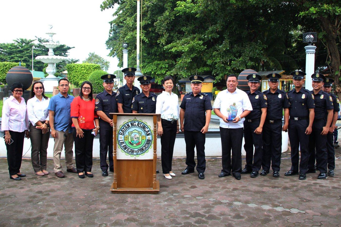 BFP Asingan pinarangalan bilang pinakamahusay na Fire Station sa buong Pangasinan